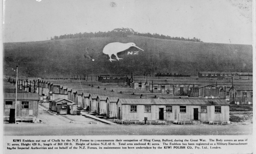The Bulford Kiwi and Sling Camp during World War 1