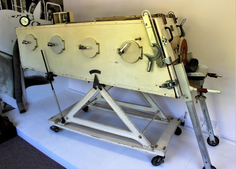 An iron lung