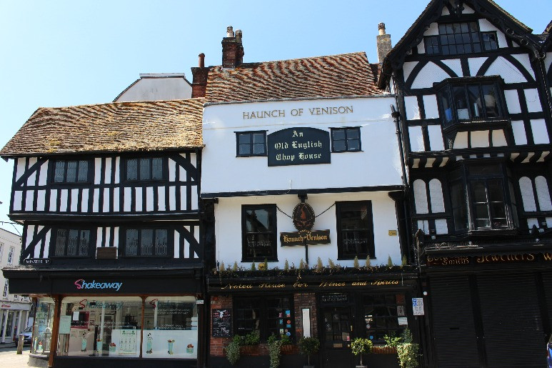 The Hauch of Venison pub in Salisbury