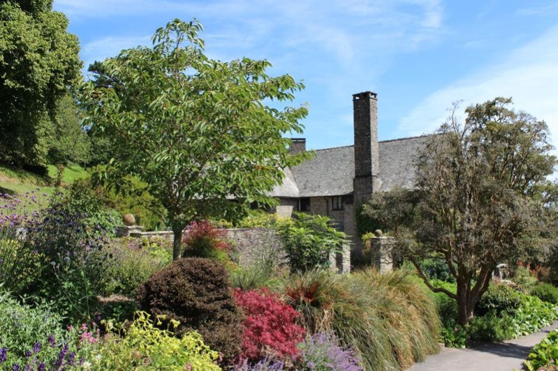 The colourful gardens at Coleton Fishacre