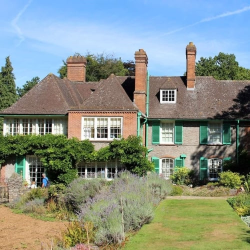 Nuffield House set in beautiful gardens.
