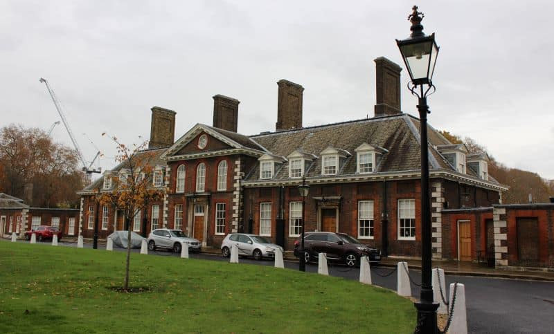 A building which is part of the Chelsea Hospital