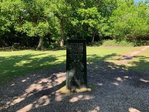 THE RUFUS STONE MONUMENT IN THE NEW FOREST