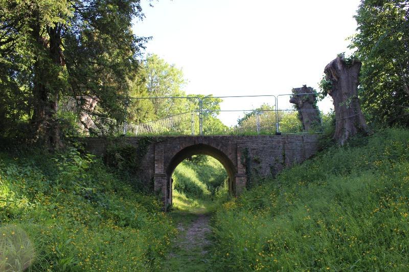 The bridge in the Downton Moot.