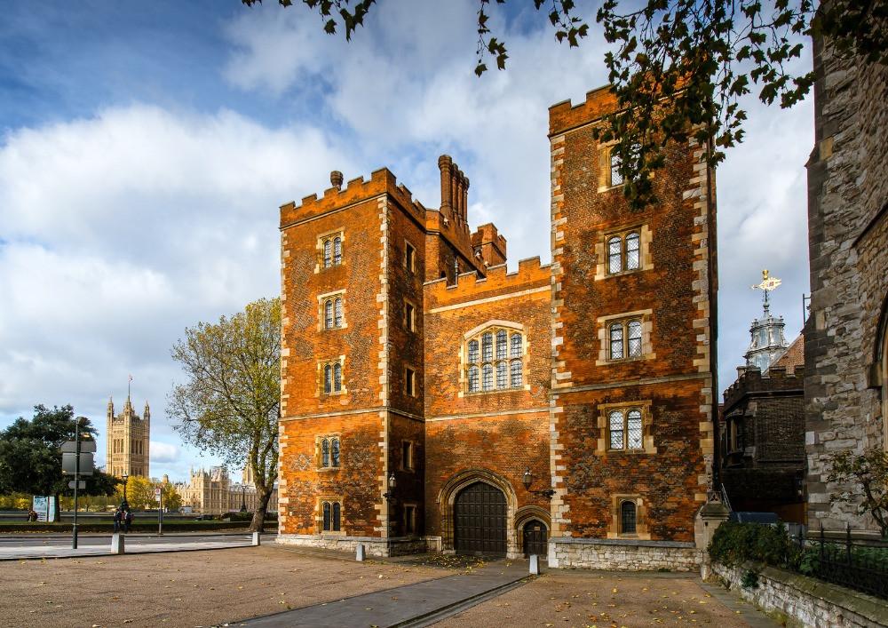 Morton's Tower at Lambeth Palace