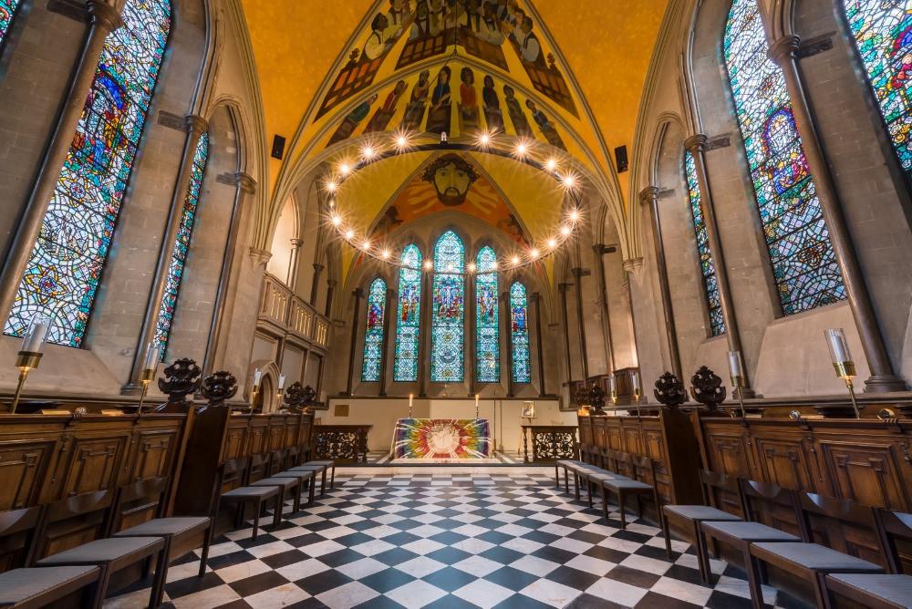 The chapel inside Lambeth Palace