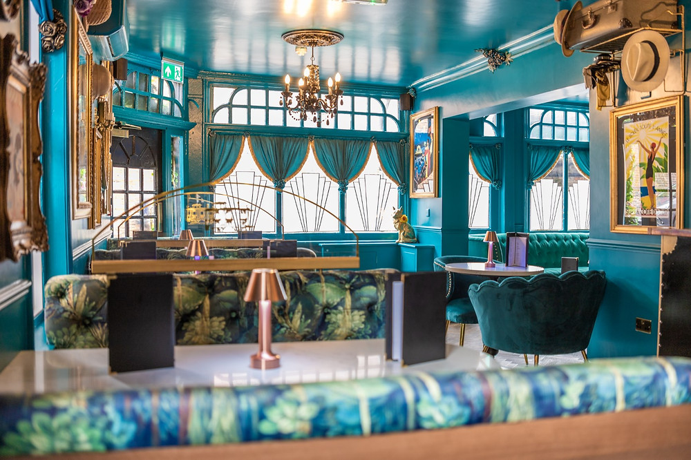 The interior of Cabosse restaurant in Salisbury