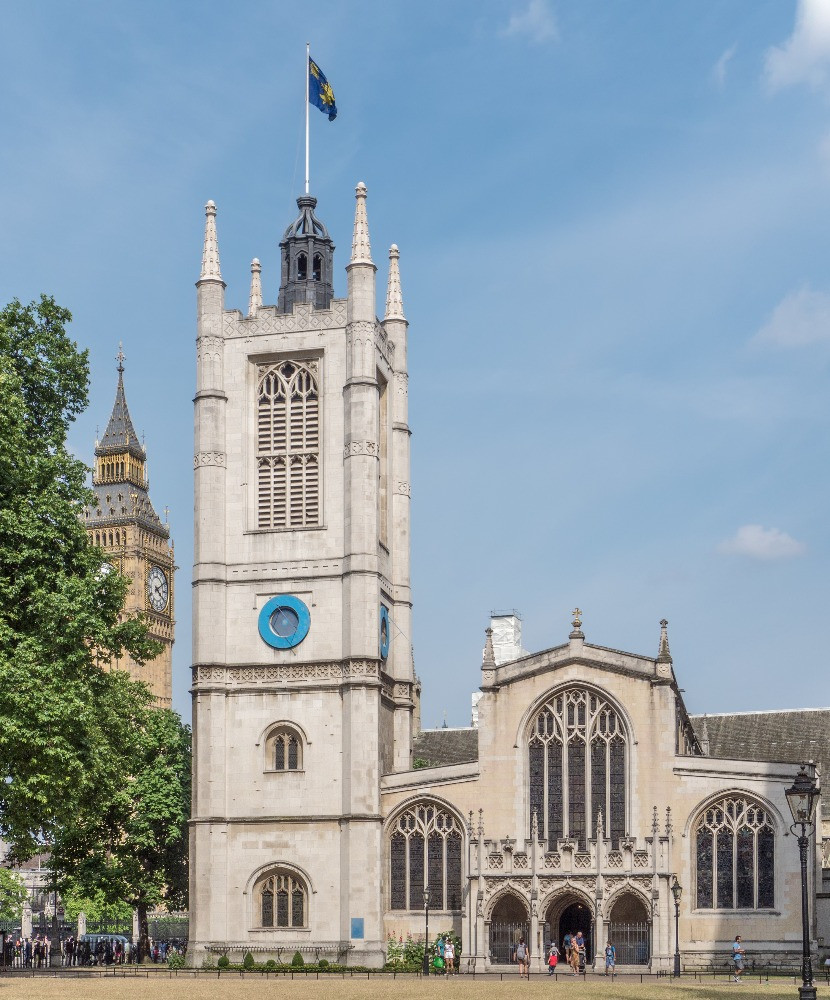 The exterior of St. Margarets Church in Westminster