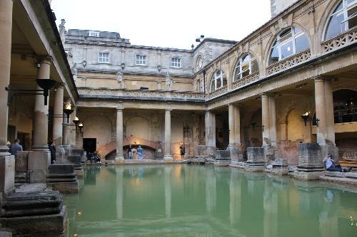 The Great Bath in the Roman Baths