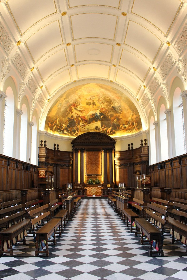 The Wren Chapel in the Royal H