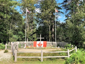 THE CANADIAN WAR MEMORIAL IN THE NEW FOREST
