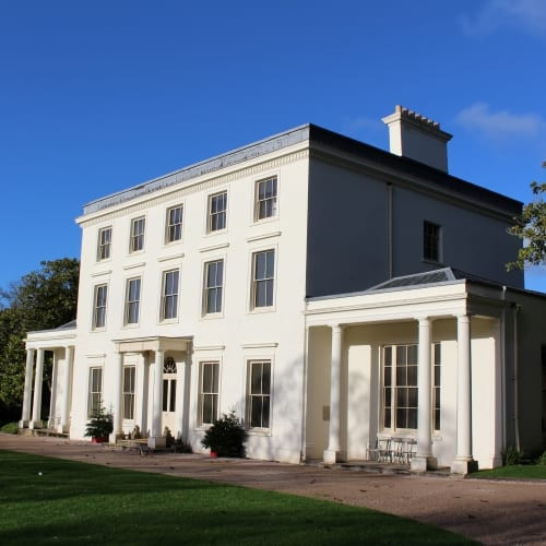 The exterior of Greenway, Agatha Christies holiday home.