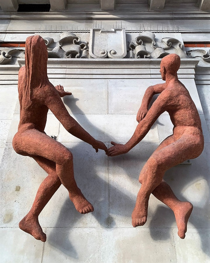 The Sunbathers Sculpture