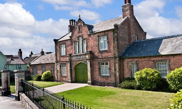 The exterior of Rippon Workhouse Museum