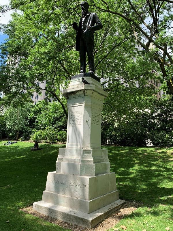 Sir Wilfred Lawson statue