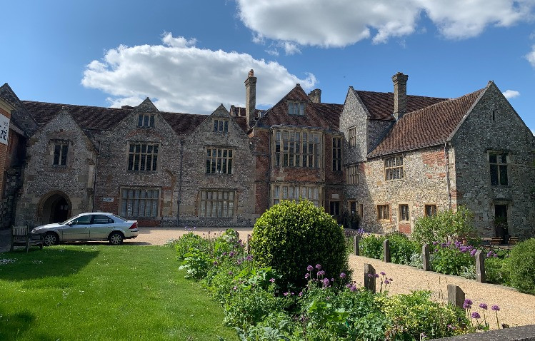 The outside of Salisbury Museum in the Cathedral Close.