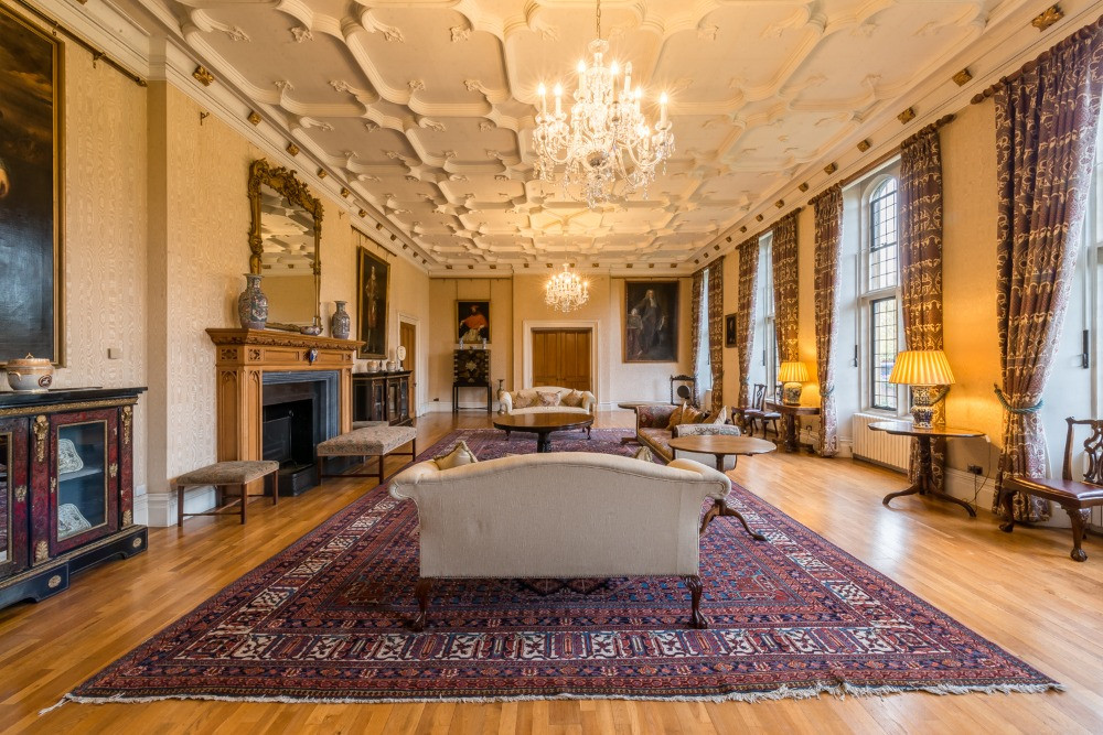 The state drawing room in Lambeth Palace.