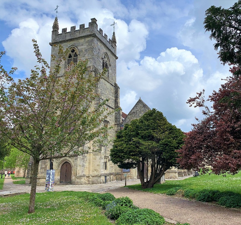 The exterior of St Edmunds Church