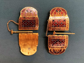 THE SUTTON HOO COLLECTION AT THE BRITISH MUSEUM