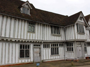 LAVENHAM GUILDHALL – AN EXCEPTIONAL MEDIEVAL BUILDING IN SUFFOLK