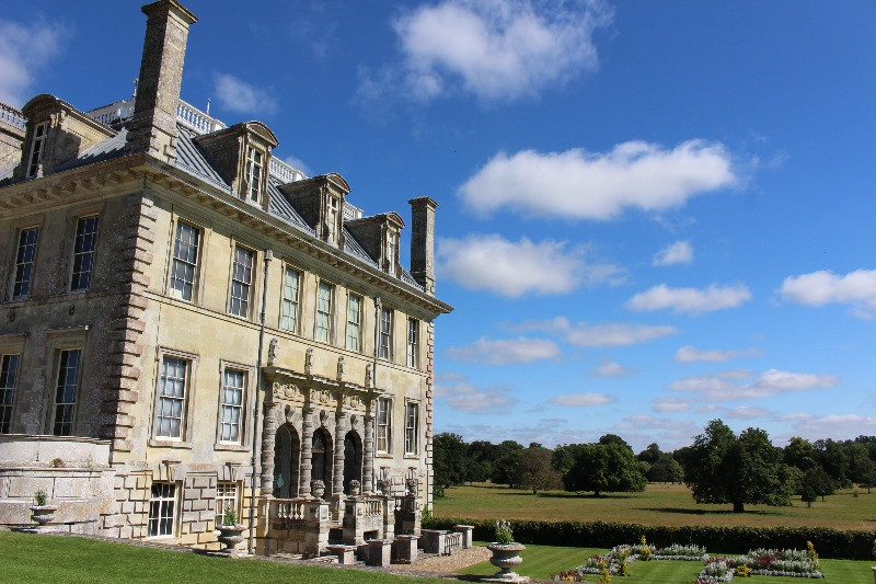 The outside and grounds of Kingston Lacy
