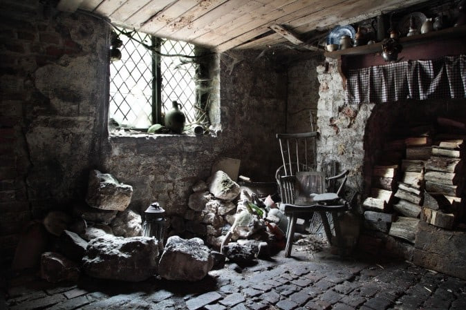The cellar in 18 Folgate Street