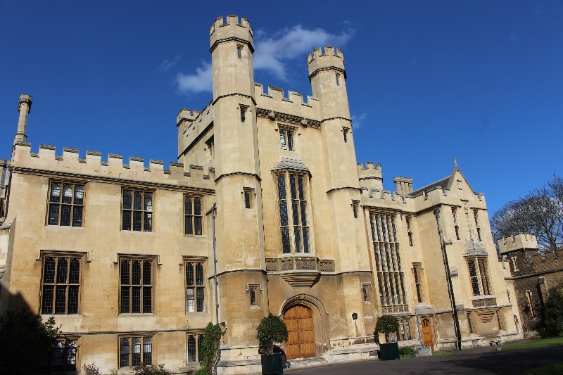 Lambeth Palace from the outside.