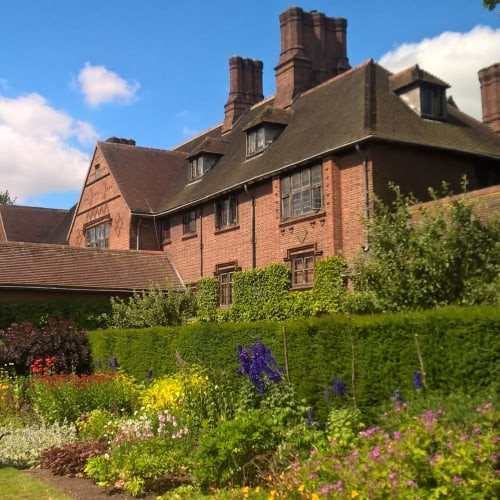Goddards House set in beautiful gardens