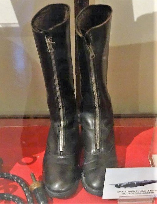A pair of flying boots