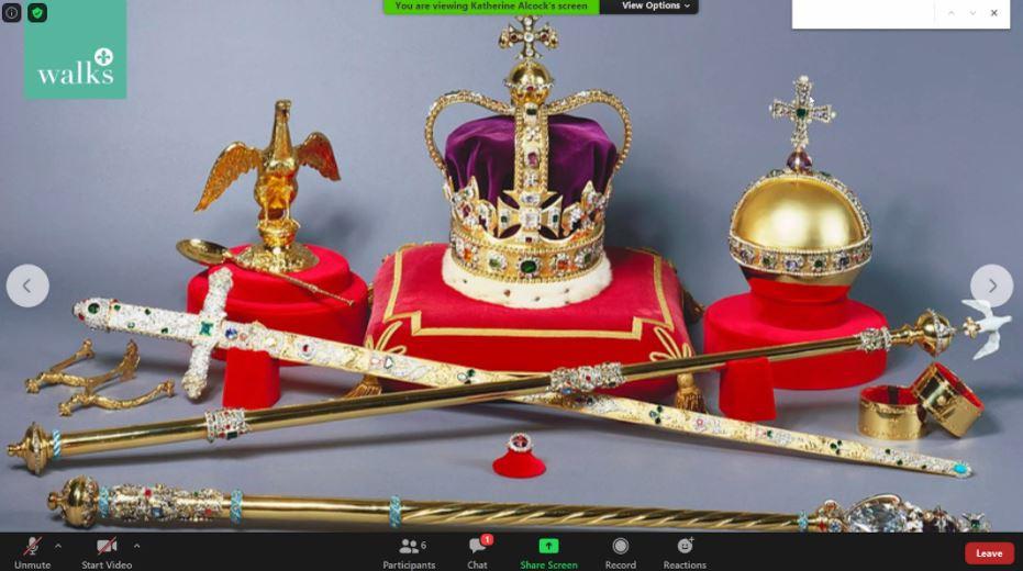 A screenshot of the Crown Jewels