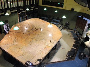 THE ROOM WHERE HISTORY WAS MADE: INSIDE THE BATTLE OF BRITAIN BUNKER