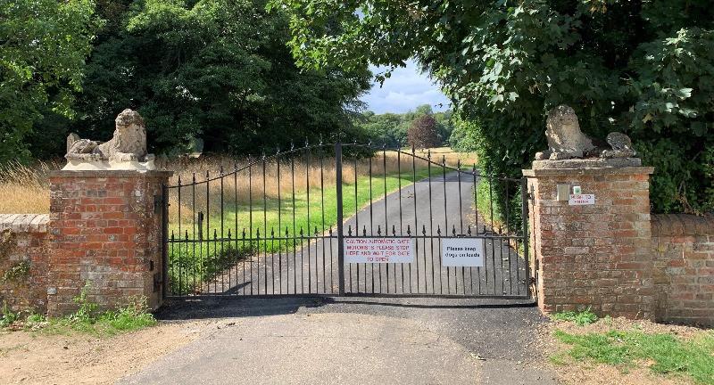 The gates you use to access the Mizmaze.
