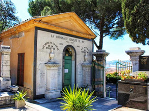 ISRAELITE CEMETERY AND THE HOLOCAUST MEMORIAL IN NICE, FRANCE