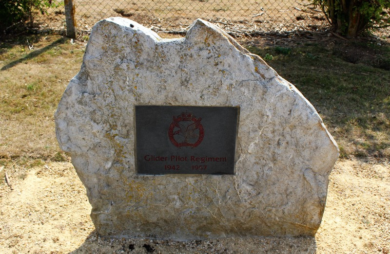 Memorial to the glider Regiment