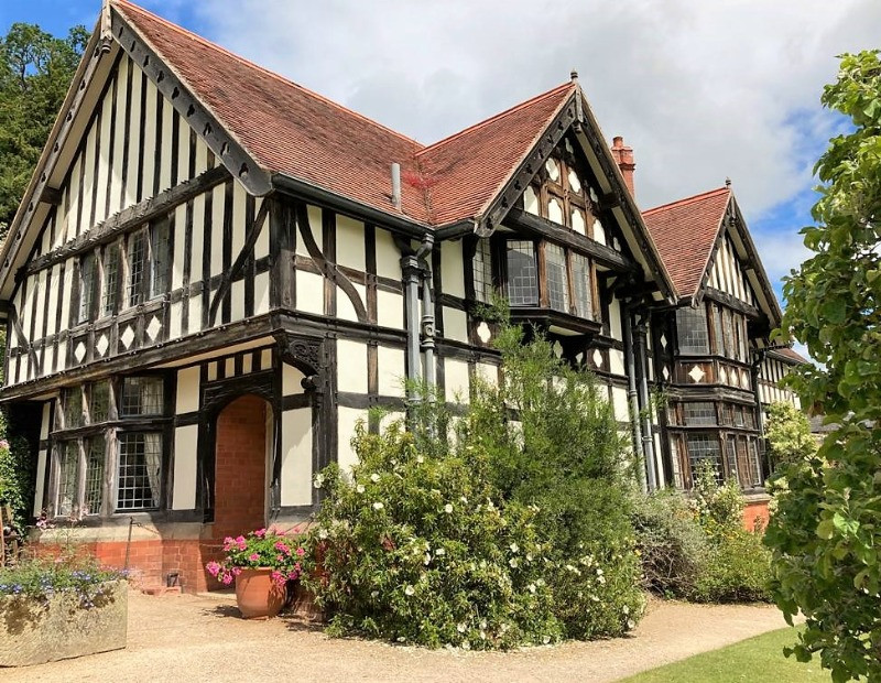 A medieval building