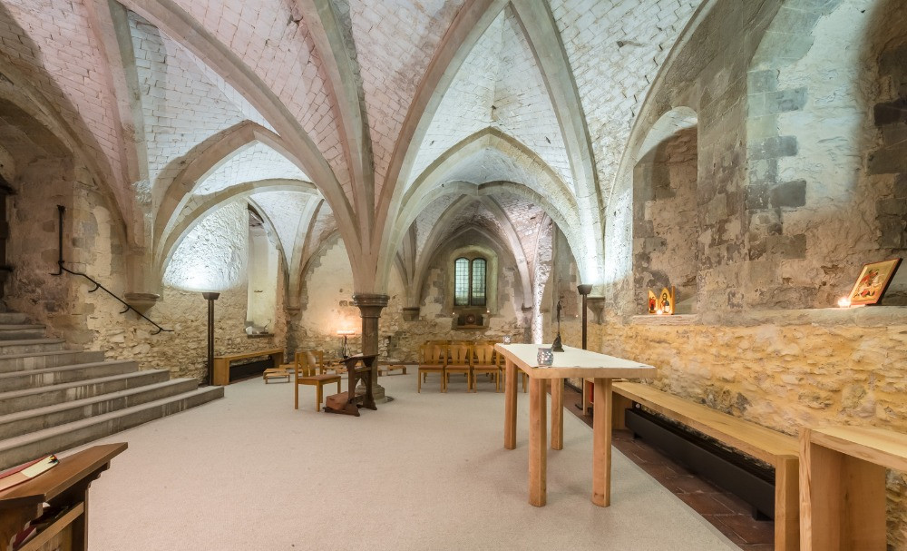 The crypt of Lambeth Palace