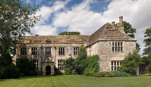 The outside of Avebury Manor in Wiltshire.