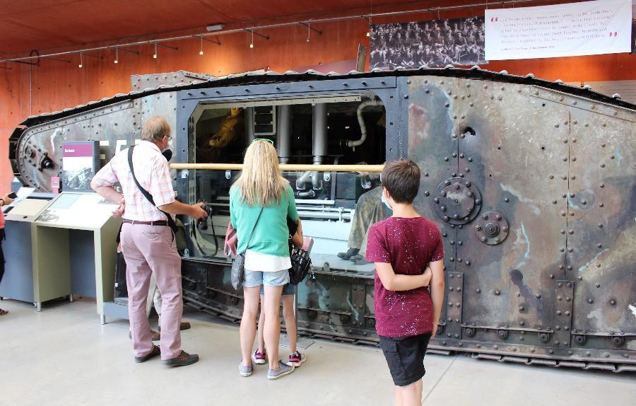 The Mark II tank