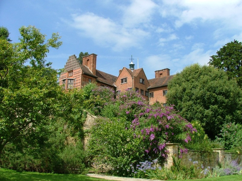 The outside and gardens of Chartwell in Kent.