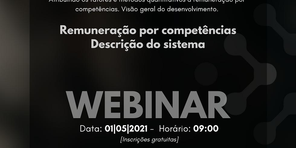 Webinar: Remuneração por competência, descrição do sistema