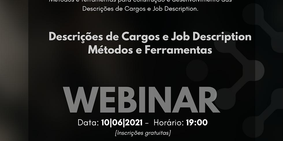 Descrições de Cargos e Job Description