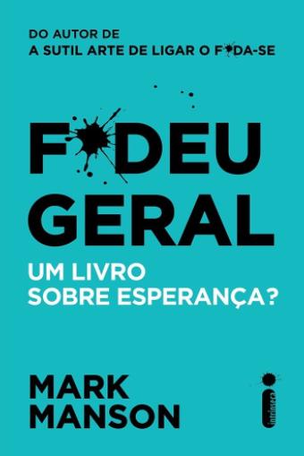 FODEU GERAL - UM LIVRO SOBRE ESPERANCA?