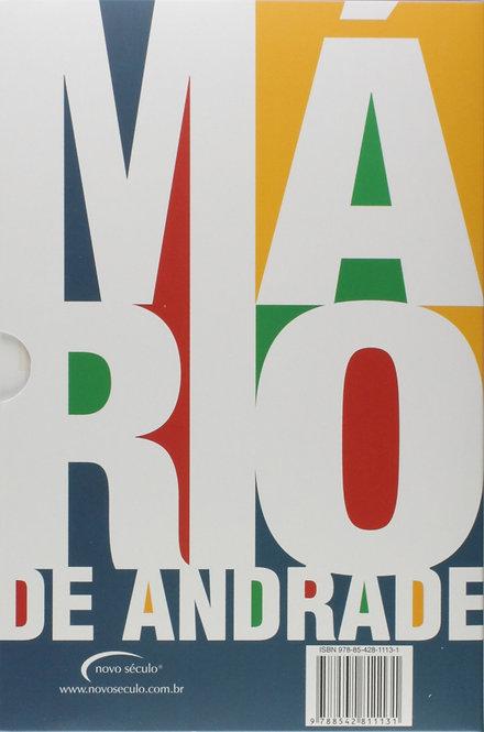 BOX - OBRAS DE MARIO DE ANDRADE - 04 VOLS