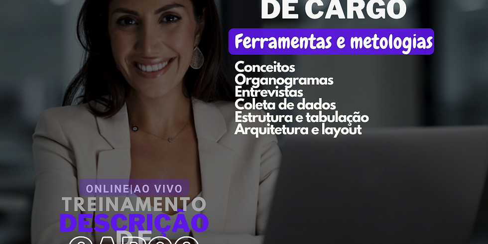 Treinamento Online: Descrição de Cargo, como elaborar, estruturar e validar (2)