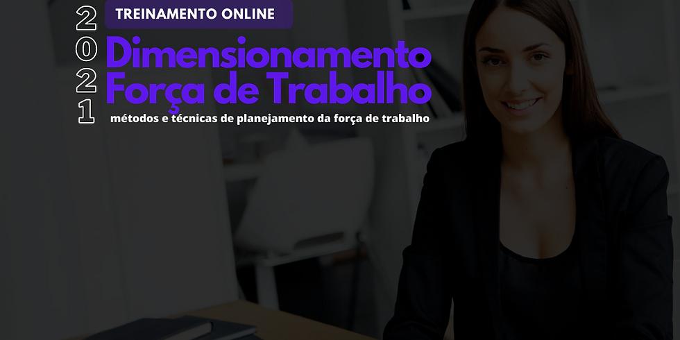 Treinamento Online: Dimensionamento e Força de Trabalho (2)