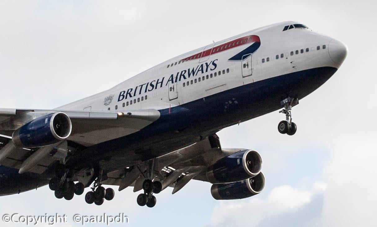 Boeing 747 - MSN 25813 - G-CIVG  (1 of 1