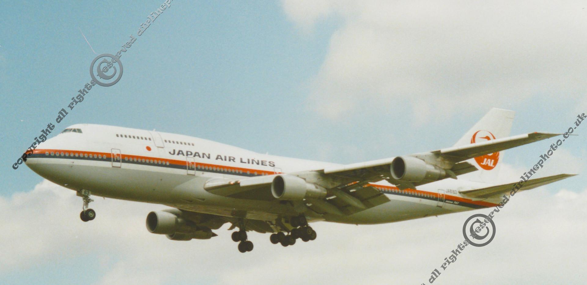 JA8163-JAL-Japan-Airlines-747-LHR-1991.j