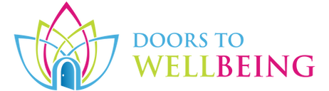 The doors to well being logo