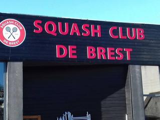 Nouveau tournoi amateur et première soirée privée annoncés au Squash Club de Brest !
