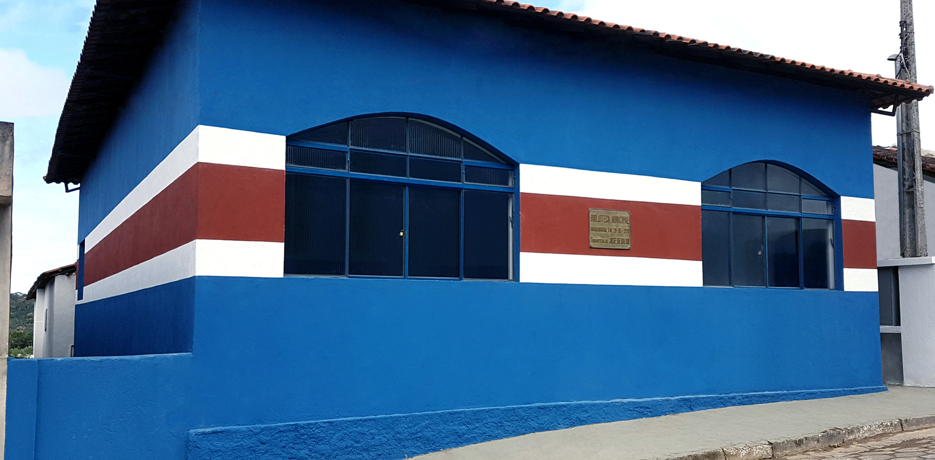 Reforma em Biblioteca Municipal